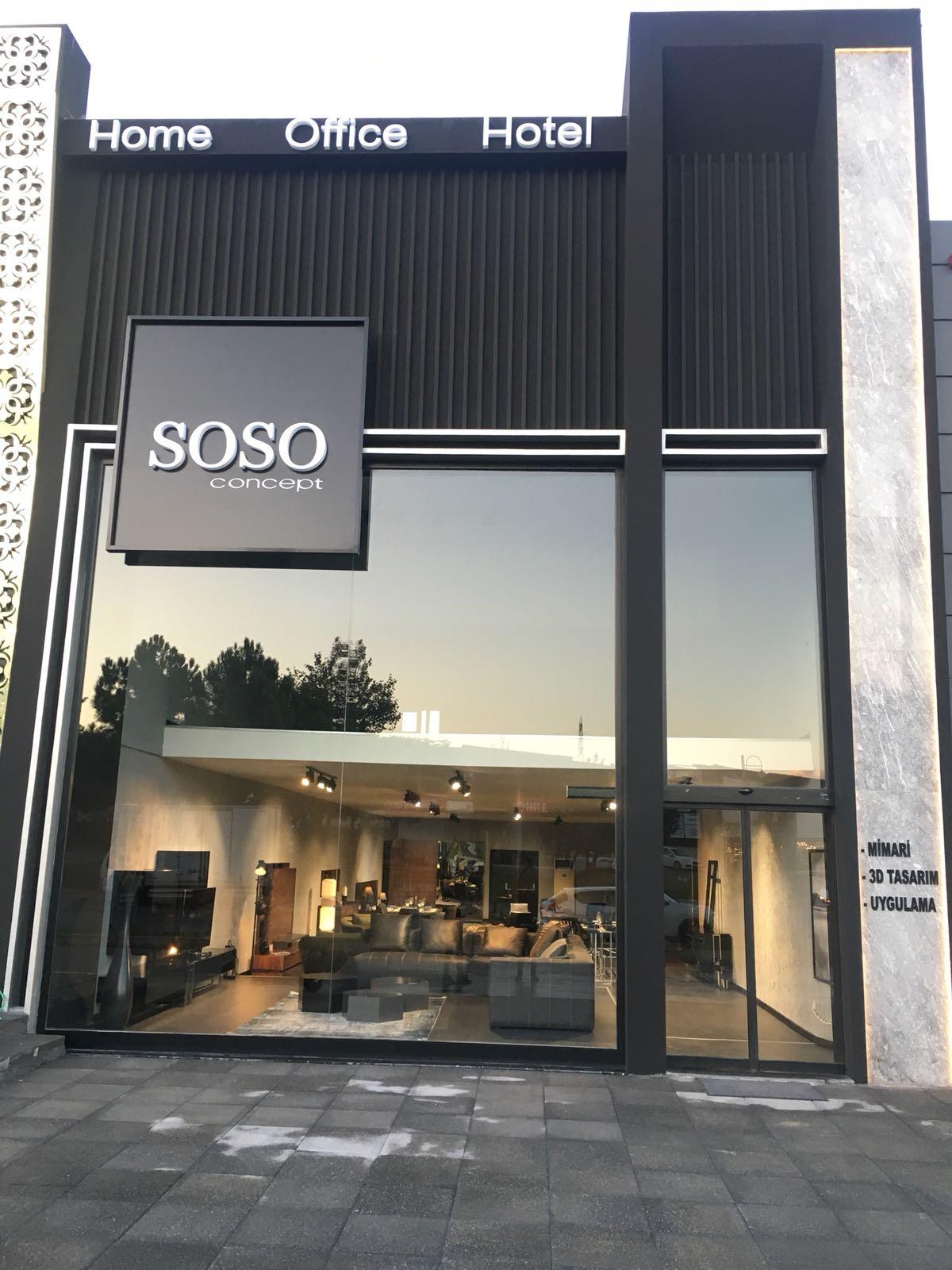 soso concept furniture | soso konsept ev mobilyaları